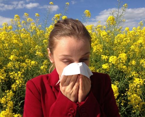 Allergien, Heuschnupfen, Astma